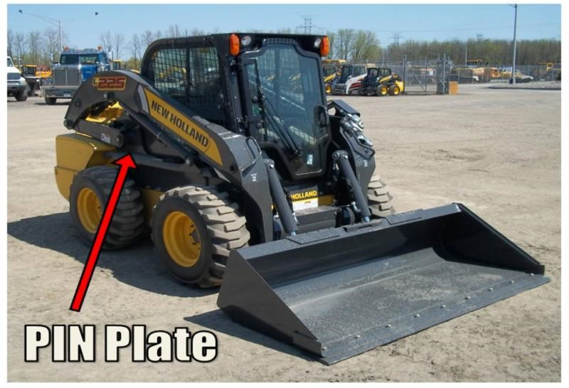 New Holland Ledger Plate : Stolen new holland skid steer loader and trailer